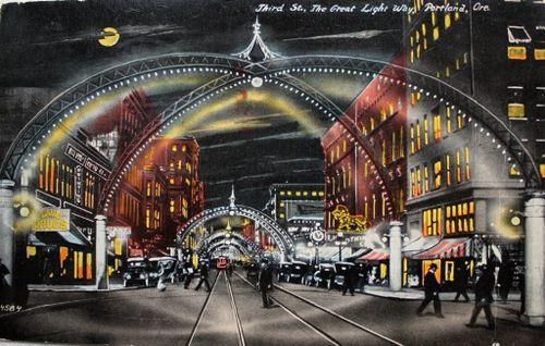 Third Street, Portland Oregon, post 1913.