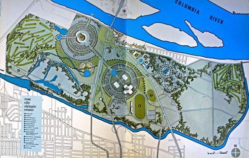 Portland Oregon XIX Olympiad proposal 1962.