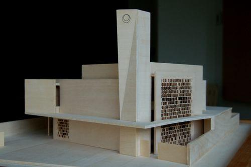Mosque model 016A