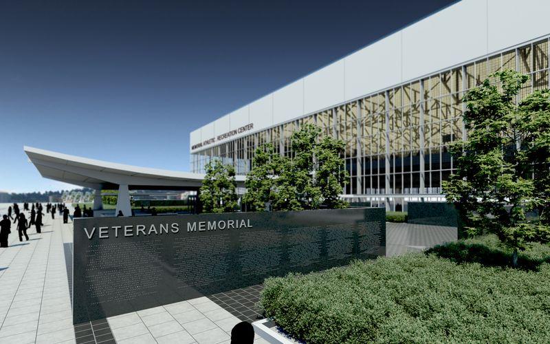 MARC & Veterans Memorial