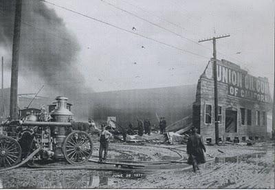 Union Oil fire, Portland Oregon, June 26 1911