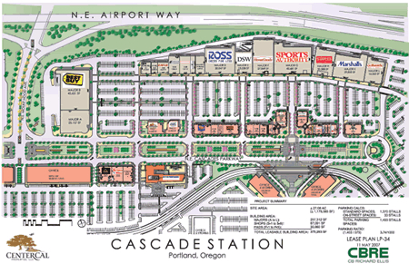 Cascade-station-map