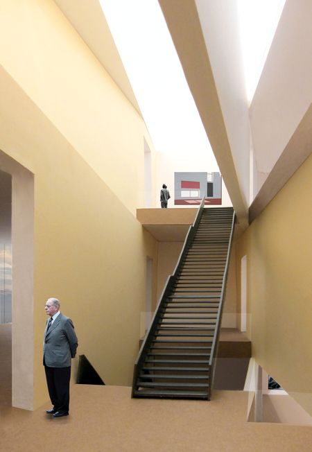 MCBA Stairwell and Structure