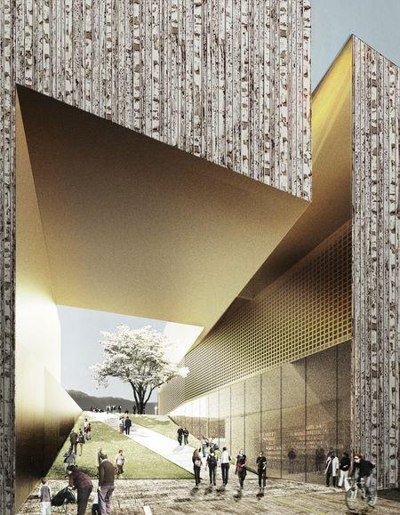 MCBA Landscaped Entrance