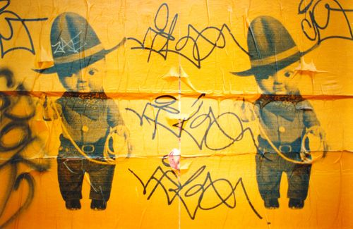 Graffiti & Little Cowboys