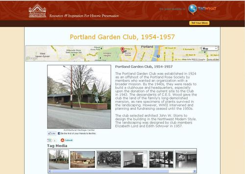 Portland Garden Club - tagwhat screenshot