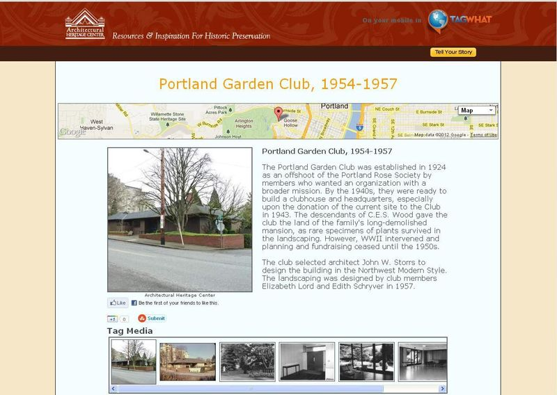 Portland Garden Club - tagwhat screenshot