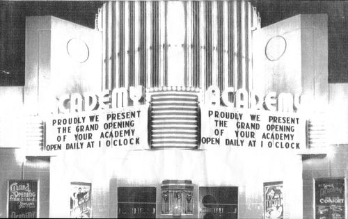Opening night 1948