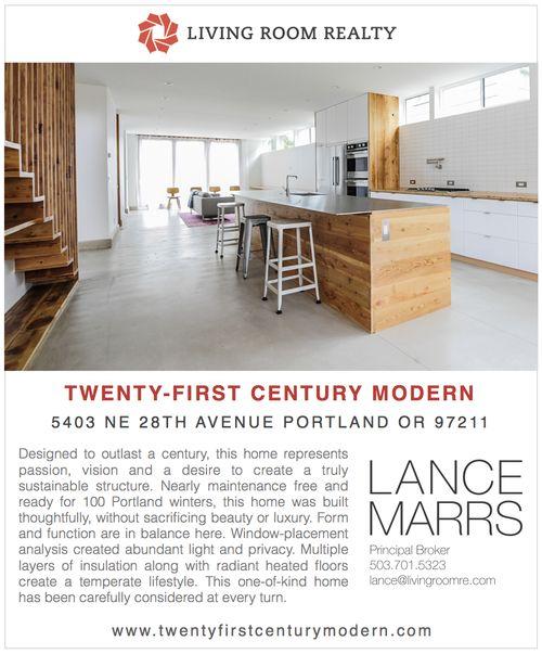 5403 NE 28th Portland Architecture Ad