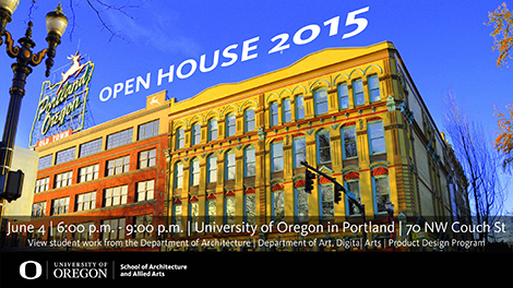 Open House 2015 Portland Architecture Ad