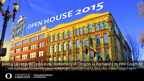 Open House 2015 Portland Architecture Ad