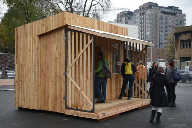 SERA Architects pod exterior
