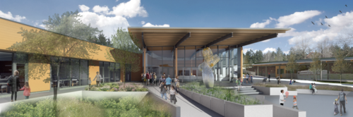 Oregon Zoo Education Center rendering