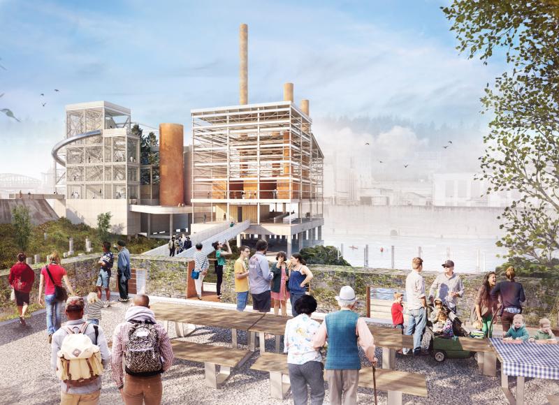 WFLP_Final Concept Design_Woolen Mill Overlook to Mill H