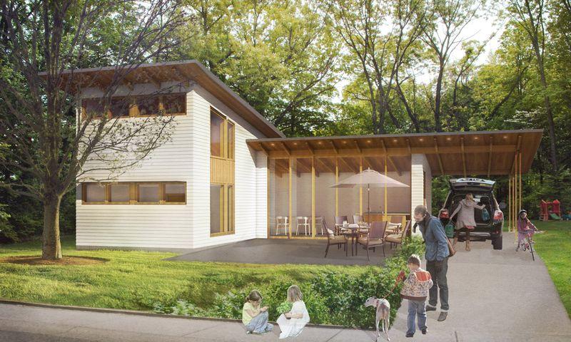 Modern Residence Exterior Propel Studio