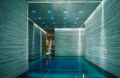 Zumthor Therme Vals