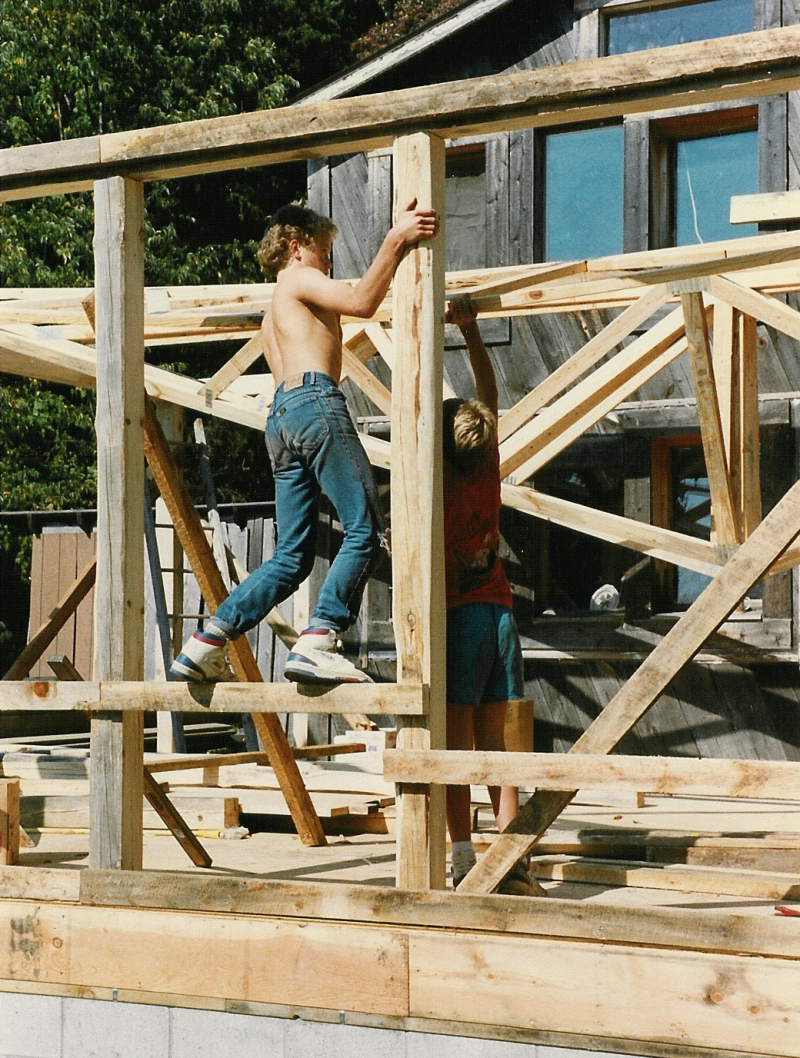 Image 4 - 1989 setting trusses