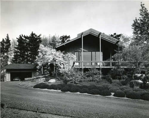 John Storrs photographs 030 James Grieve residence 1960 Portland_Images courtesy of Fran Storrs and the Architectural Heritage Center