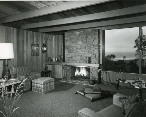 John Storrs photographs 019 Frank White residence at Salishan_Images courtesy of Fran Storrs and the Architectural Heritage Center