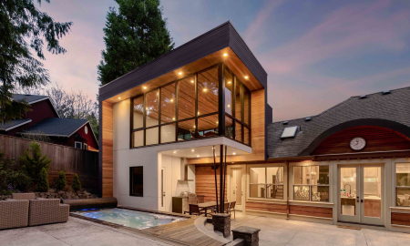 2-The Poolhouse Addition Exterior - Propel Studio