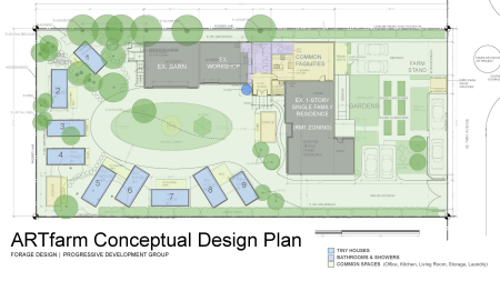 Art Farm Proposed Concept Plan 12.15.20